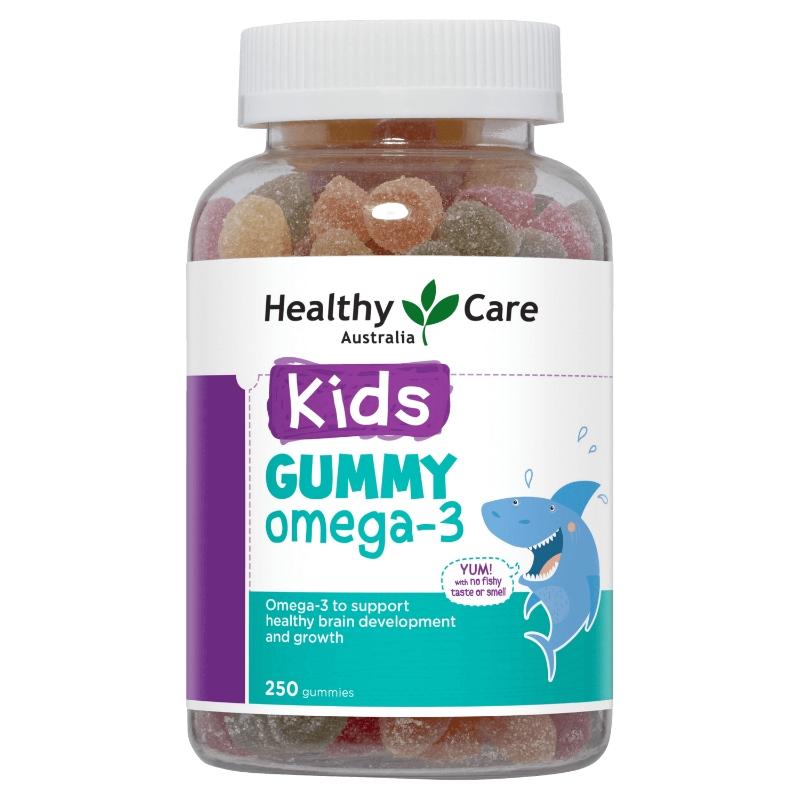 Healthy Care Kids Gummies Omega-3 250 Gummies