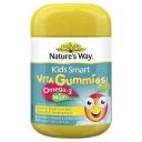 Nature's Way Kids Smart Vita Gummies Multi + Omega 50 Pastilles