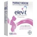 Vitamin tổng hợp cho bà bầu - Elevit Pregnancy Multivitamin Tablets 100 Pack (100 Days) (Limit of ONE per Order)