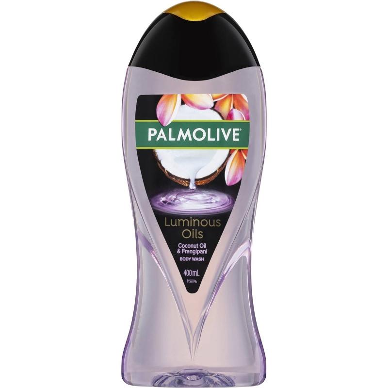 Sữa tắm dầu dừa Palmolive Luminous Oils Body Wash Coconut Oil Shower Gel 400ml