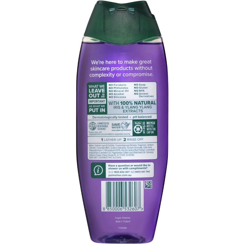 W-Sữa tắm - Palmolive Naturals Body Wash Anti Stress Shower Gel 500ml