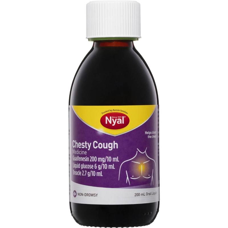 Nyal Chesty Non Drowsy Cough Medicine 200ml