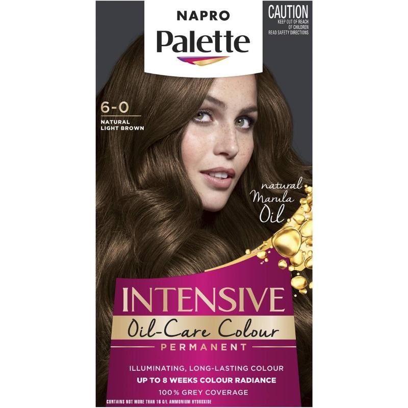 Napro Palette 6-0 Natural Light Brown each