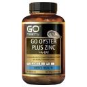 Tinh chất hàu GO Healthy Oyster Plus Zinc 1-A-Day 120 Vege Capsules