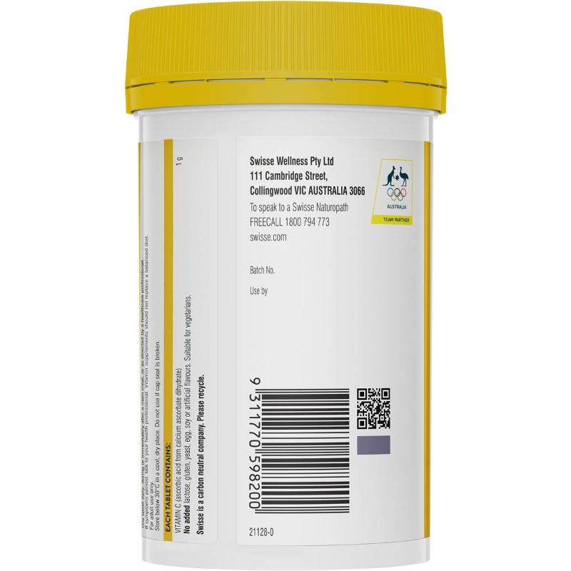 Swisse High Strength C Immune Health Tablets 150 pack