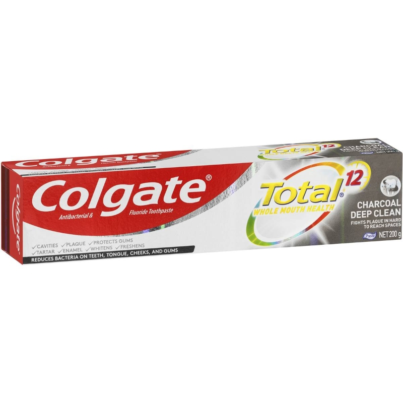 Colgate Total Charcoal Toothpaste 200g
