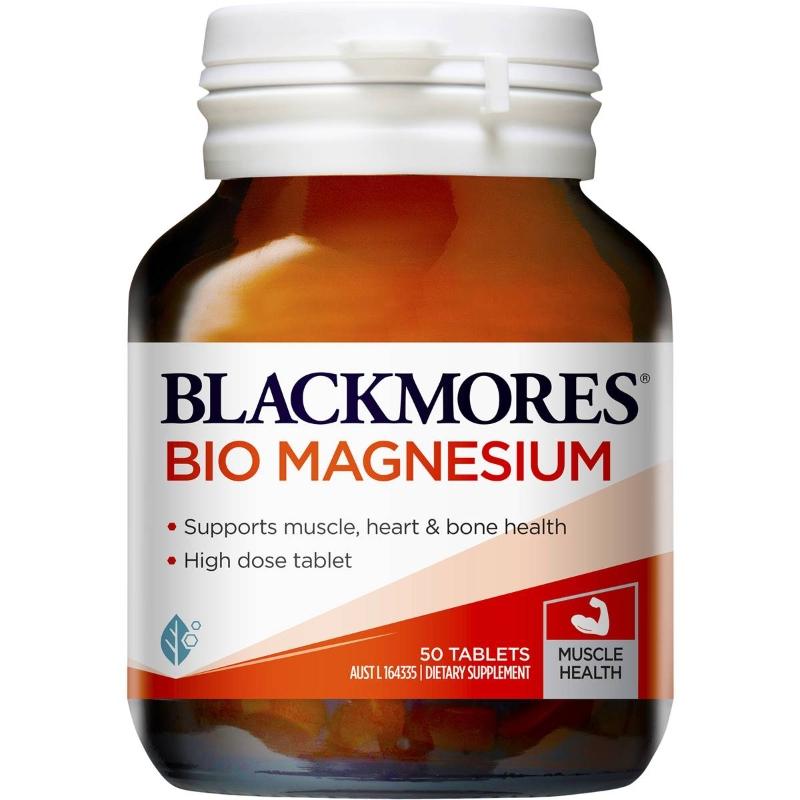 Blackmores Bio Magnesium 50 pack