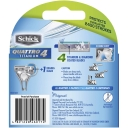 Schick Razor Blades Quattro Titanium 4 Cartridges 4 pack