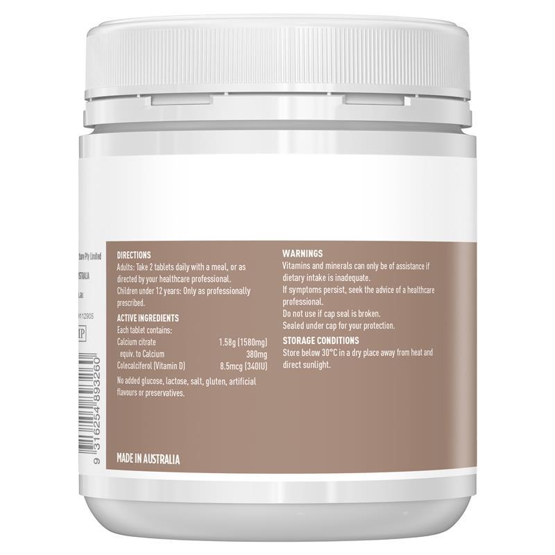 Healthy Care Ultra Calcium Plus Vitamin D 150 Tablets