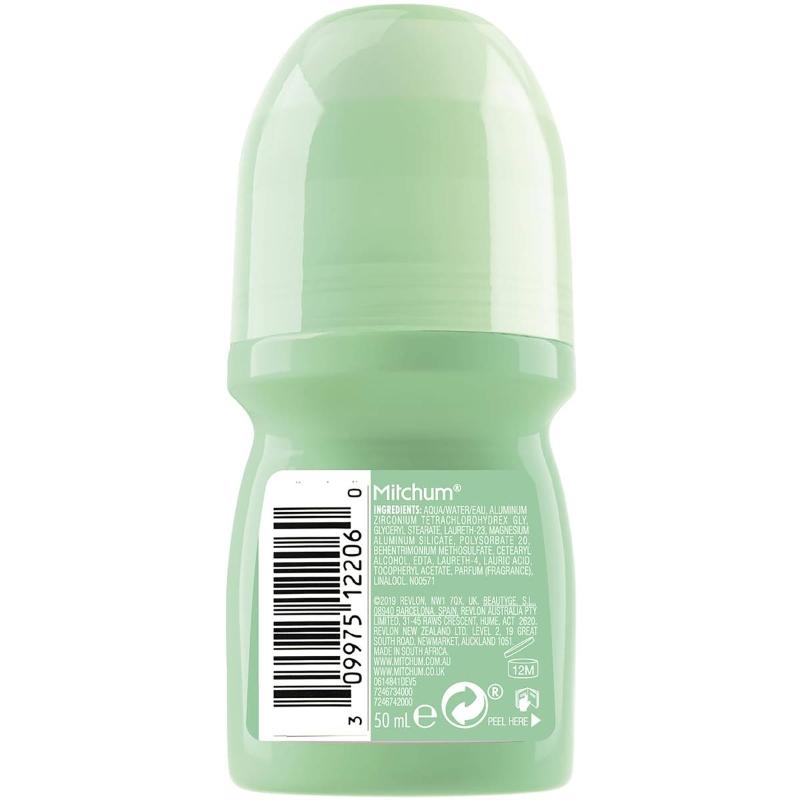 Mitchum Women's Roll On Powder Fresh Antiperspirant & Deodorant 50ml