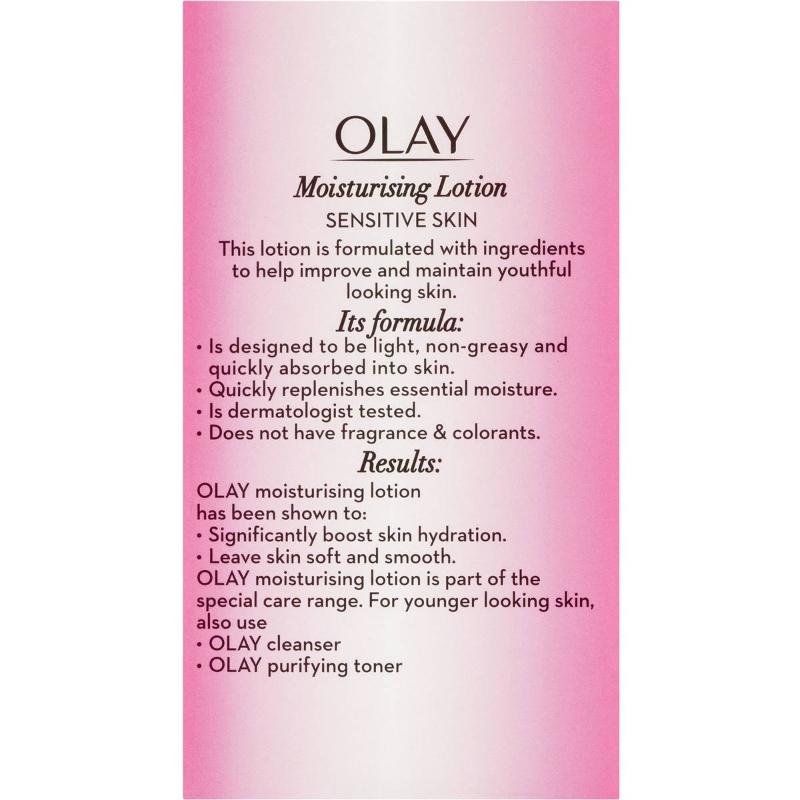 Olay Moisturising Lotion For Sensitive Skin 150ml