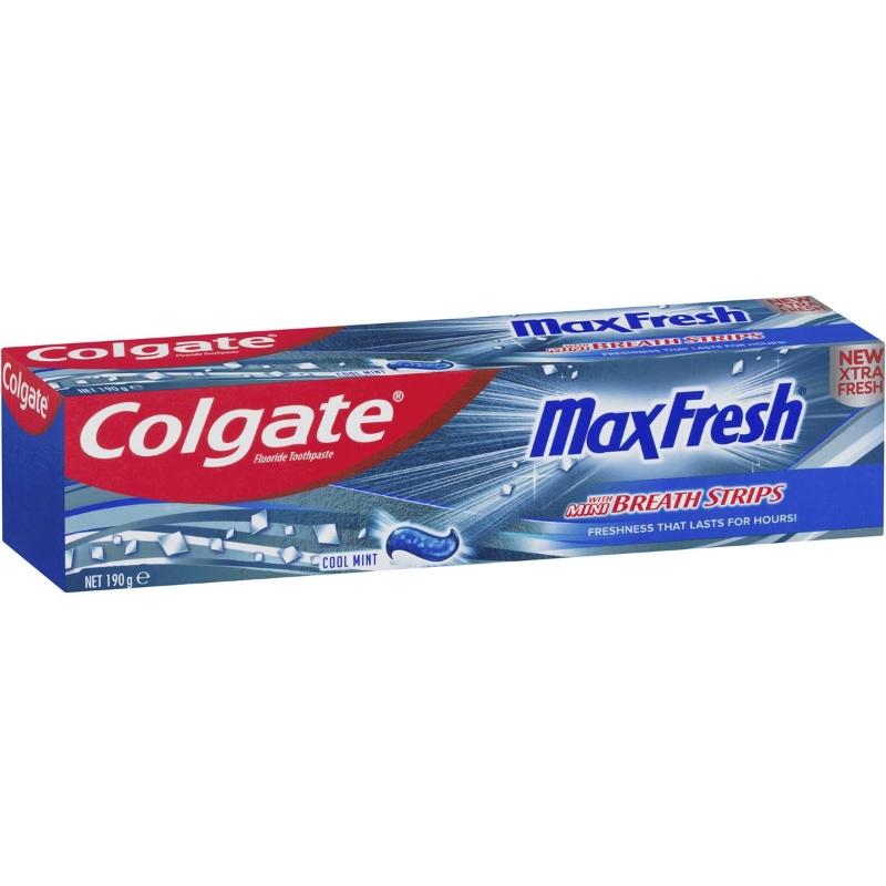 Kem đánh răng Colgate Max Fresh Breath Toothpaste Cool Mint 190g