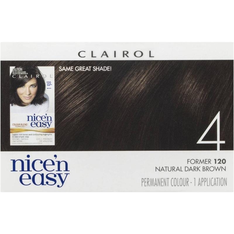 Clairol Nice N Easy 4 Natural Dark Brown each