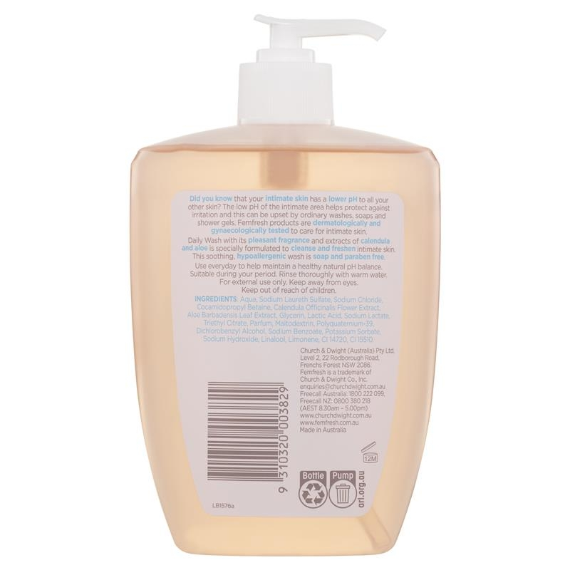 dung dịch vệ sinh phụ nữ Femfresh Daily Wash 600ml