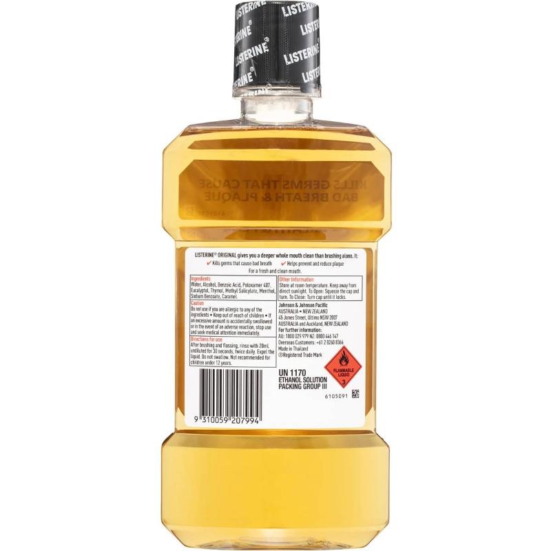 Listerine Mouthwash 1l
