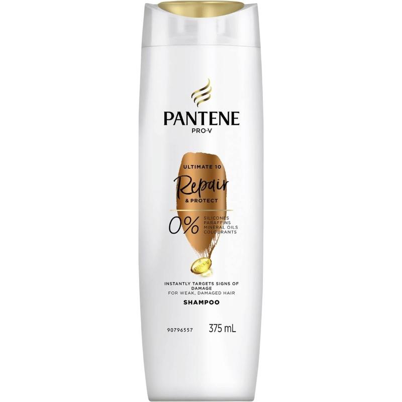 Pantene Pro-v Ultimate 10 Repair & Protect Shampoo 375ml