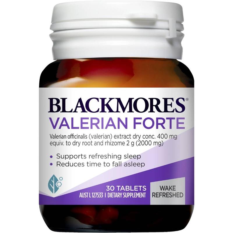 Blackmores Sleep Support Valerian Forte Tablets 30 pack
