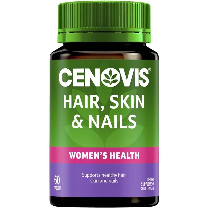 Cenovis Hair, Skin & Nails Tablets 60 pack