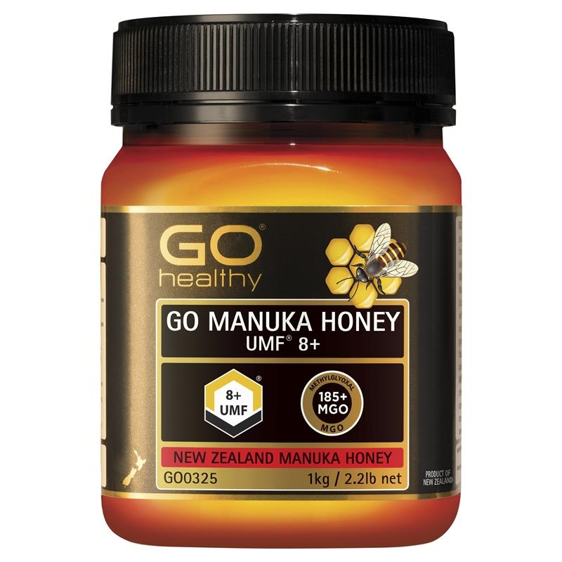 GO Healthy Manuka Honey UMF 8+ (MGO 180+) 1kg (Not For Sale In WA)