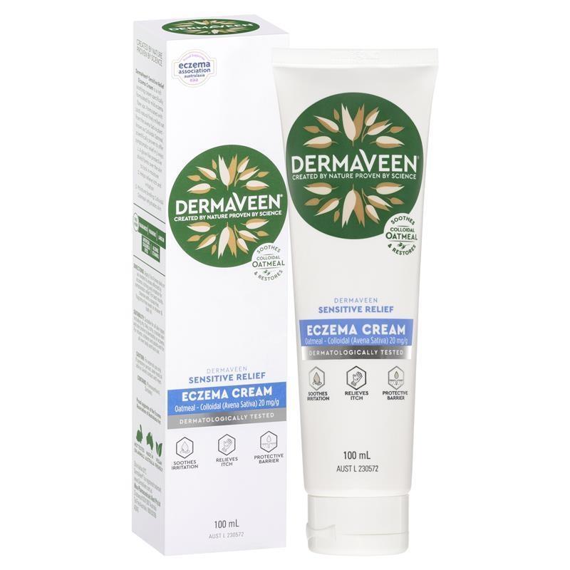 DermaVeen Eczema Cream 100ml