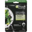 Garnier Pure Charcoal Tissue Face Mask Black Algae each