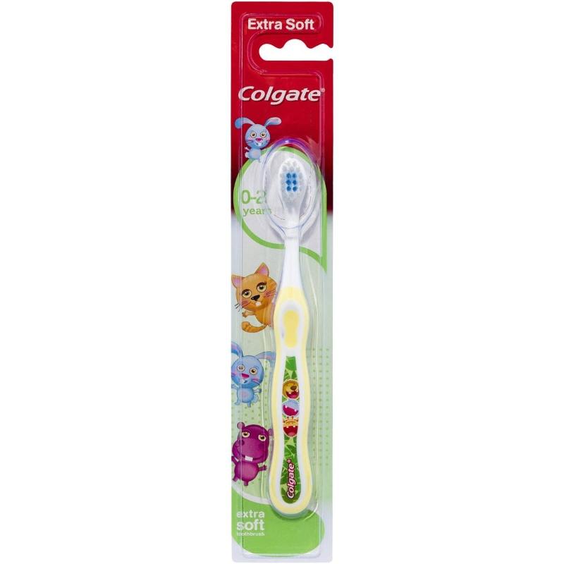 Bàn chải đánh răng cho bé Colgate KidsMy First Extra Soft BristlesToothbrush 0-2 Years 1 pack