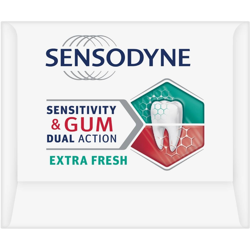 Kem đánh răng Sensodyne Gum Dual Action Extra Fresh Toothpaste 100g