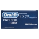 Oral B CROSSACTION PRO 500 Rechargeable Electric Toothbrush