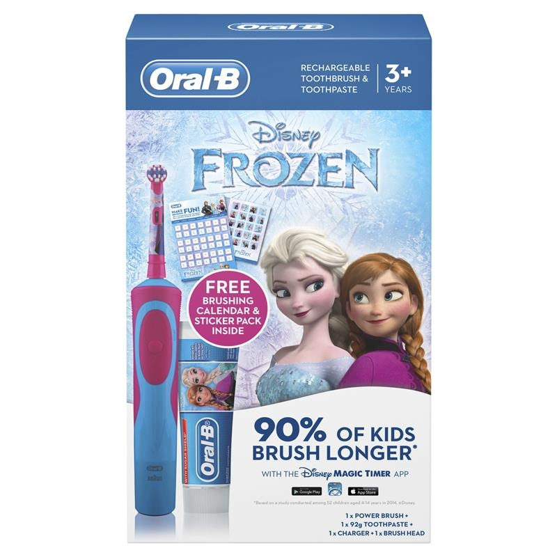 Oral B Stages Kids Frozen Gift Pack 3+ Years