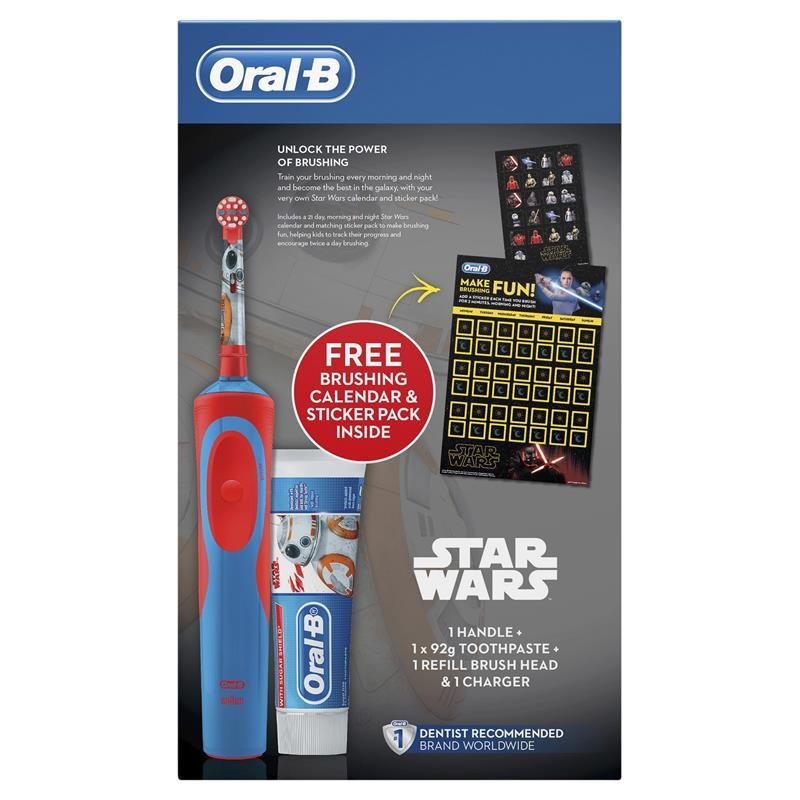Oral B Stages Kids Star Wars Gift Pack 6+ Years