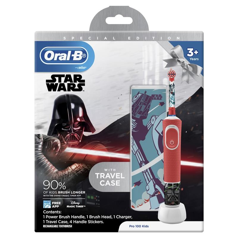 Oral B Power Toothbrush Pro 100 Kids Star Wars