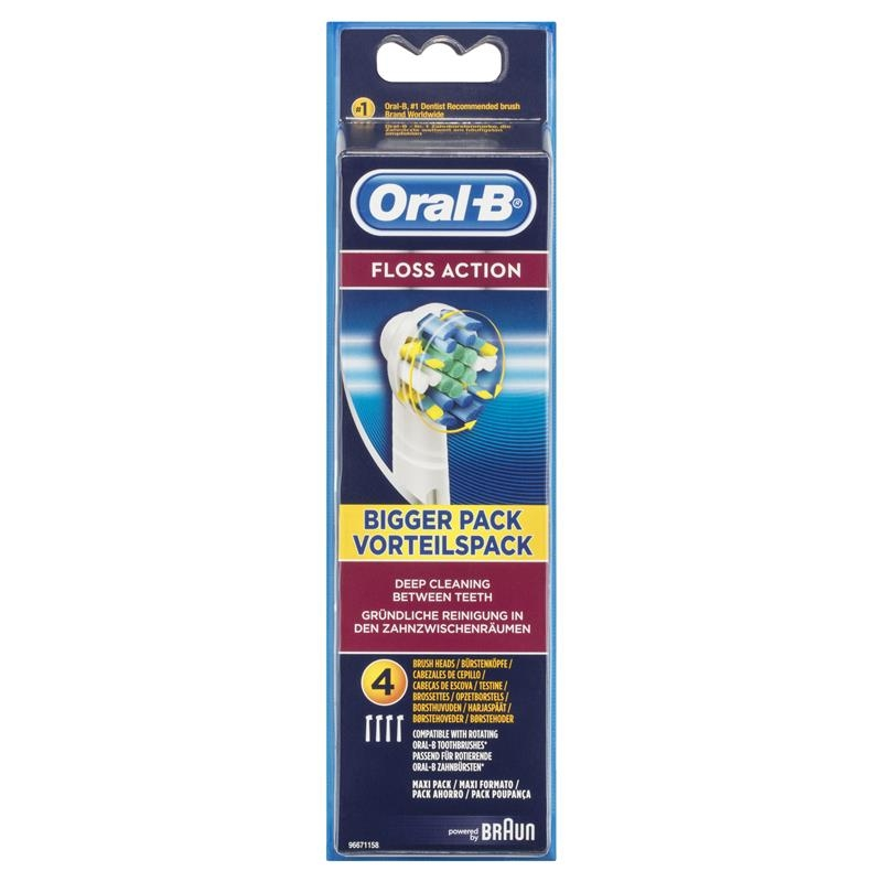 Oral B Floss Action Refills 4 Pack