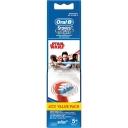 Oral B Vitality Power Toothbrush Kids Star Wars Refills 4 Pack