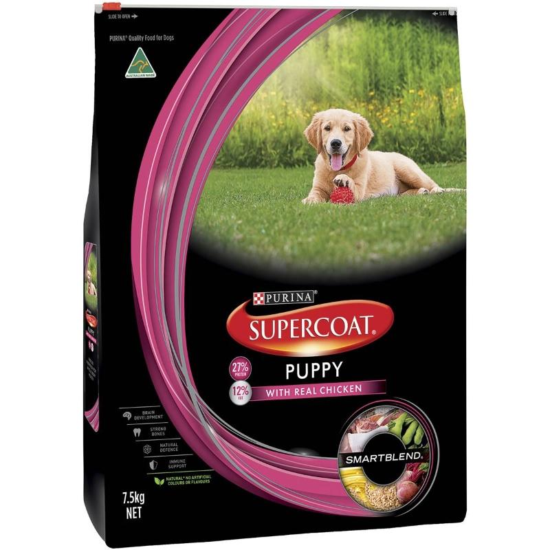Thức ăn cho chó Supercoat dành cho chó con 7,5kg