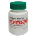 Megafol 5mg Folic Acid Tablets 100