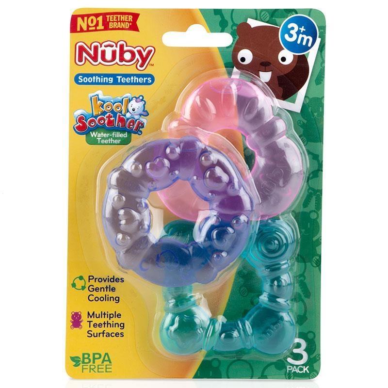 Gặm nướu - Nuby Water Filled Teether 3 Pack
