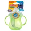 Bình tập uống nước - Nuby No Spill Trainer Cup Twin Handle 4+ Months 295ml