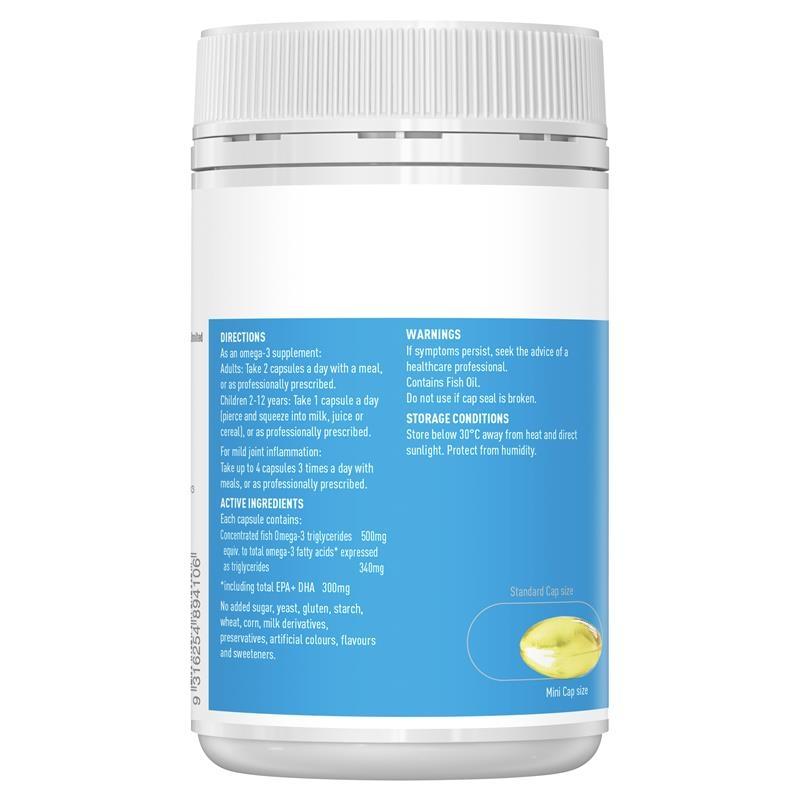 Healthy Care Odourless Fish Oil 200 Mini Capsules
