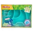 Bát tập ăn cho bé - Nuby Sure Grip Silicone Animal Placemat