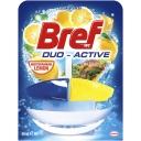 Viên tẩy bồn cầu Bref Duo Active Mediterranean Lemon 50ml