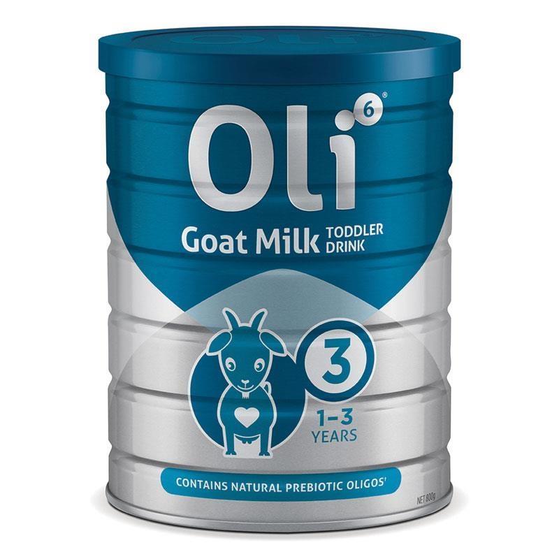 Oli6 Stage 3 Dairy Goat Milk Formula Toddler 800g