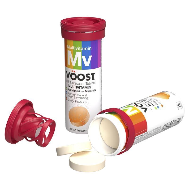 Viên sủi vitamin tổng hợp - VOOST Multivitamin Effervescent 10 Tablets