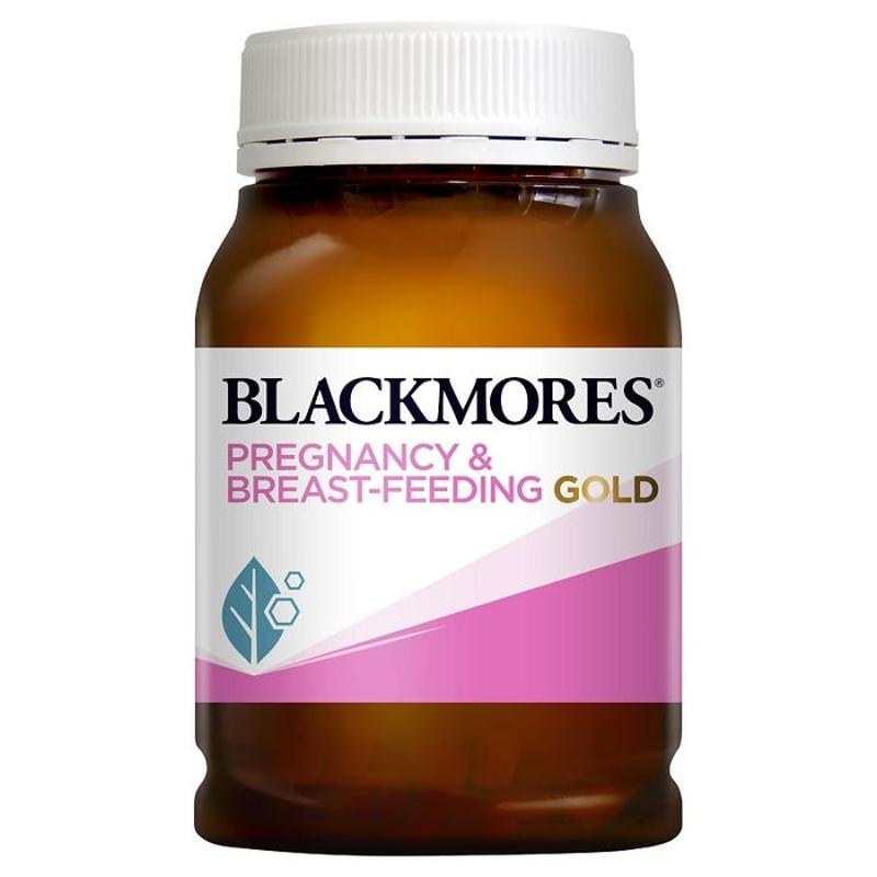 Vitamin tổng hợp cho bà bầu Blackmores Pregnancy & Breast-Feeding Gold Cap X 180