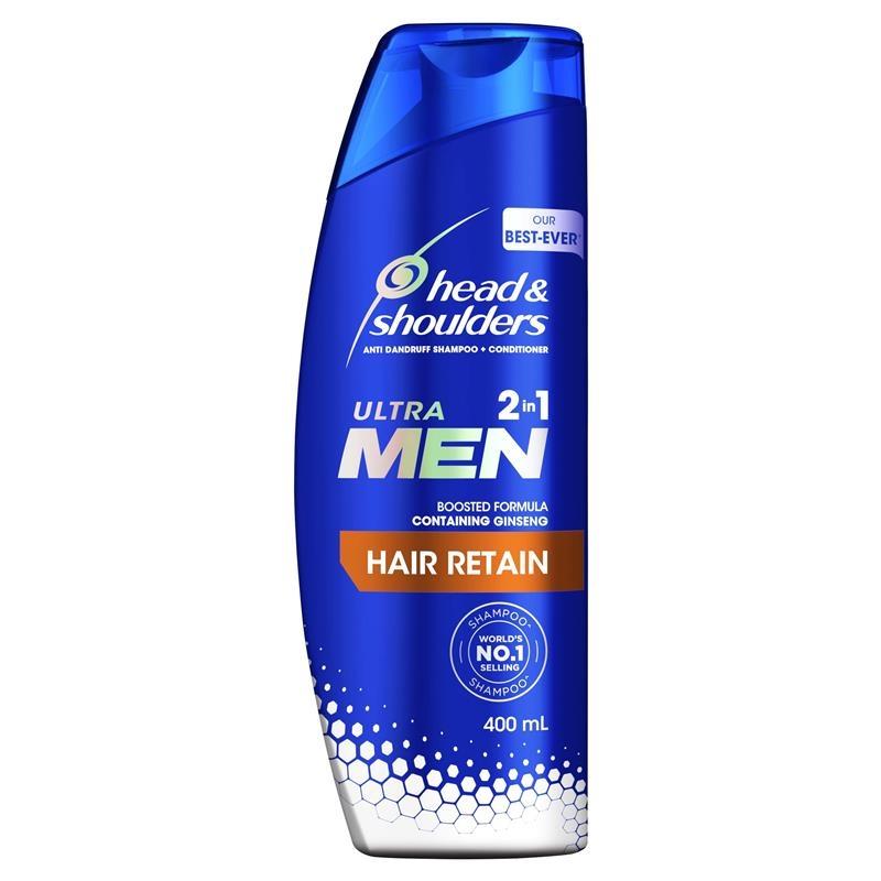 Head & Shoulders Ultramen 2in1 Hair Retain 400ml