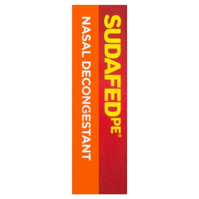 Sudafed PE Nasal Decongestant Tablets 48 Pack