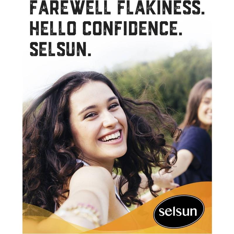 Selsun Blue Replenishing Anti-dandruff Shampoo 200ml
