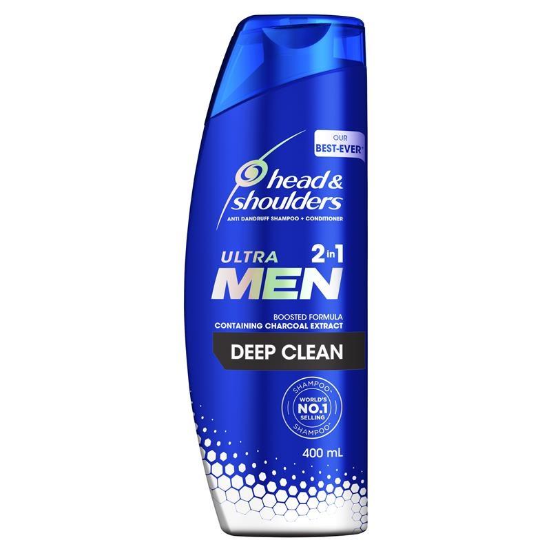 Head & Shoulders Ultramen 2in1 Deep Clean 400ml