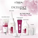 L'oreal Excellence Creme Hair Colour 1 Black each