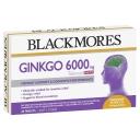 Viên uống bổ não Blackmores Ginkgo 6000mg 30 Tablets