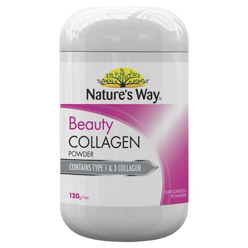 Bột uống collagen Nature's Way Beauty Collagen Powder 120g